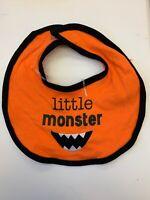 Little Monster Halloween Baby Bib Teething Cloth