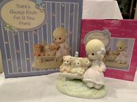 "Precious Moments Figurine ""There's Always Room For A New Friend"" CC550060 Rare!"