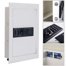 Digital Electronic Flat Recessed Wall Hidden Safe Security Gun Cash Lock Box