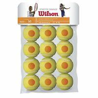 Wilson Kids Starter Tennis Balls Pack of 12 - YellowOrange