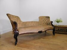 Antique Victorian sofa for reupholstery