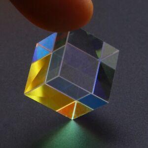 Mode Glasprisma Dichroitischer Licht Würfel Cube Optisch Prisma Dichroic DE !