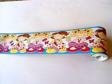 Selbstklebende Bordüre 10m x 10cm Kinder Mädchen Motiv 174464