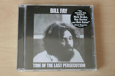 Bill Fay - Time of the Last Persecution CD (1971). Reissue, 2005