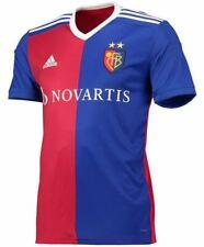 Brand New!  adidas FC Basel Home Football Shirt Swiss Soccer Jersey Novartis