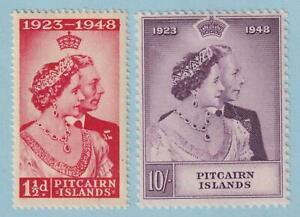 PTCAIRN ISLANDS 11 - 12  MINT NEVER HINGED OG ** NO FAULTS EXTRA FINE! - V591