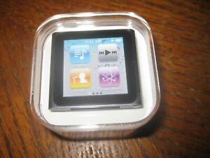 Apple iPod Nano 6th Generation 8GB Graphite, MC688LL/A New Sealed