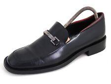 Gucci Bit Loafer Black Red Leather Mens Shoe Size EU 40 US 7 $620