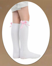 Chic Ankle Socks With Coloured Checked Bow For Girls 3 Pairs Summer