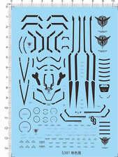 Gundam decals MG 00R 00 OO RAISER (black) 5301