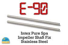 2 X Intex Pure Spa Hot Tub Impeller Pump Shaft Fix E90 errors