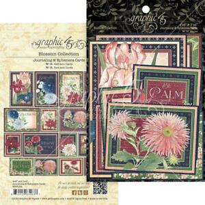 BLOSSOM Collection Journaling & Ephemera Cards Graphic 45 4502164 New