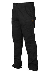 Fox Black Orange Collection Combat Cargo Trousers *All Sizes* NEW Carp Fishing