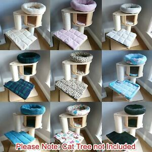 Handmade ANY COLOURS Cat Bed Replacement Set for Natural Paradise Cat Tree S