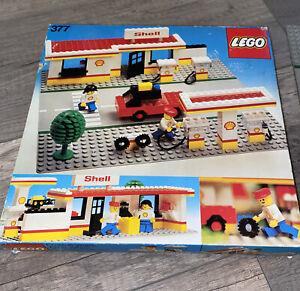 Lego  377 Shell Station /  Vintage 1978 / Incomplete/ / Legoland