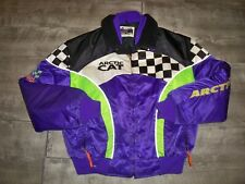 Vintage Arctic Cat ZR 2-In-1 Snowmobile Sled Insulated Womens Jacket Coat XLarge