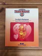 Vintage Book Teddy Ruxpin Book Grubby's Romance Very Good Condition