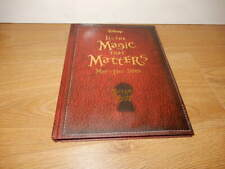 More details for walt disney ~ it's the magic that matters may-dec 2010  promotional hb book new