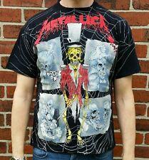 Vintage Original 1992 Metallica Pusshead tour t-shirt 90s Rare