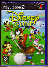 PS2 Disney Golf (2005), UK Pal, New & Sony Factory Sealed