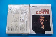 """PAOLO CONTE """" L'ALBUM DI PAOLO CONTE """" BOX CON3 MUSICASSETTE SIGILLATO"""
