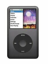 Apple iPod classic 7th Generation Black (120 Gb) - Fully Tested - Works Great