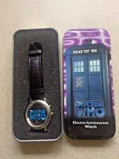 DOCTOR WHO ELECTRO-LUMINESCENT WATCH by WESCO - 1996 - 8TH DOCTOR -TV MOVIE