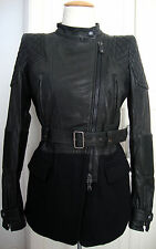 DIESEL BLACK GOLD LOLIS VESTE Leather Jacket Damen Lederjacke Gr.36 NEU+ETIKETT
