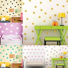 3-10cm Polka Dots Wall Stickers Baby Nursery Bedroom Art Vinyl Decals Decoration