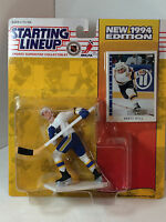 Starting Lineup 1994 Kenner NHL BLUES Figure ~ BRETT HULL NIP!!