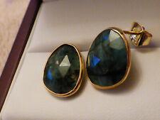 Beautiful Large Emerald Earrings 10.38ct