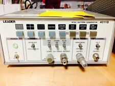 Leader 401yb 401-yb Ntsc Video Pattern Generator Test Equipment - Used