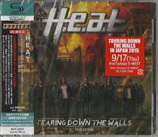 H.E.A.T-TEARING DOWN THE WALLS (TOUR EDITION)-JAPAN 2 SHM-CD H40