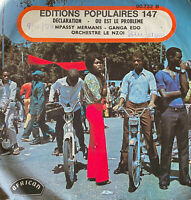 RARE AFRO SOUKOUS 7'' ORCHESTRE LE NZOI DECLARATION OG FRENCH AFRICAN NICE