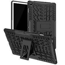 Schutz Hülle Robust Tablet Tasche Case Cover Slim Kunststoff Outdoor Schwarz
