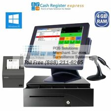 New Point of Sale System Retail Store Market Pos pcAmerica Cre All-In-One - Fast