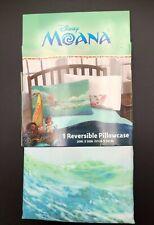 Disney Moana® Blue Pillow Cases Standard 20in X 30in New
