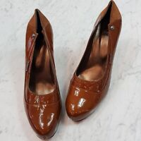 [ NANDIL ] Womens Patent Leather Heels Pump Shoes  | Size EUR 41