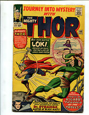 JOURNEY INTO MYSTERY #108 AT THE MERCY OF LOKI, PRINCE OF EVIL! (5.0) 1964