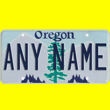 Bicycle license plate - Oregon design, new custom personalized, any name