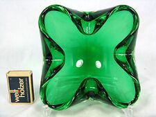 Well shaped  Murano glass bowl Schale / ashray / Aschenschale 1190  Gramm