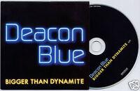DEACON BLUE Bigger Than Dynamite 2006 UK 1-trk promo CD