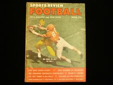 1955 Sports Review Football Magazine - College and Pro Issue