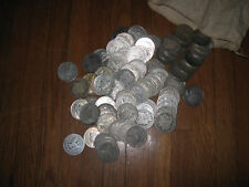 20 Morgan and Peace Silver Dollars Assorted Condition United States Coins