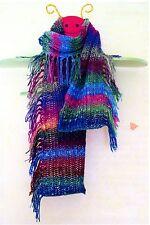 Instant Fringe Scarf - Natalie Wilson Iknitiative Knitting Pattern - Easy Knit!