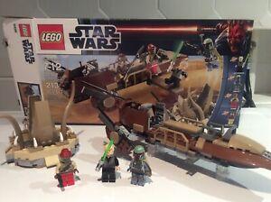 Lego Star Wars Desert Skiff 9496 Complete (read Description)