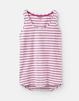 Joules 204537 204537 in BRIGHT WHITE AND PINK STRIPE