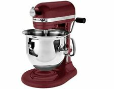 KitchenAid RKP26M1XBX PRO 600 Stand Mixer 6 quart Heavy Metal High Power Bordeau