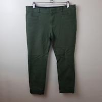 Banana Republic Womens Olive Green Sloan Curvy Fit Mid Rise Pants Size 6 Petite