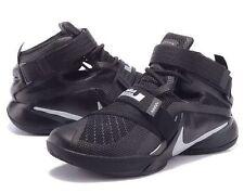 Nike Lebron Soldier IX 9 Zoom Black Mens UK 7.5 EUR 42 LAST ONE!!